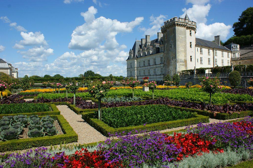 Château de Villandry, en Touraine