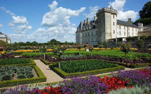 Château de Villandry en Touraine
